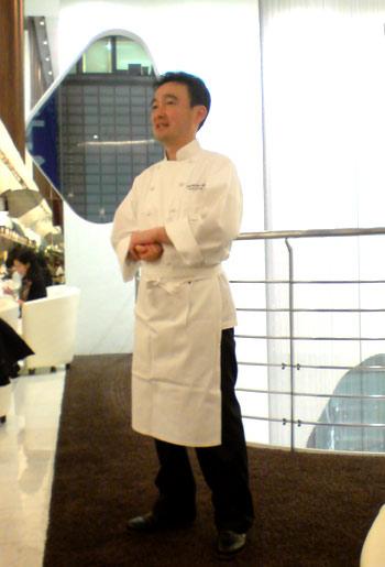 横田シェフ