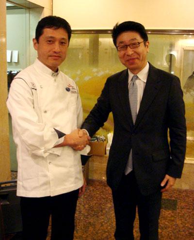 帝国ホテル東京:ガルガンチュワ・望月シェフをお迎えして