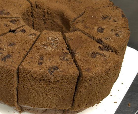 横浜シフォン「シフォンケーキ チョコレート」