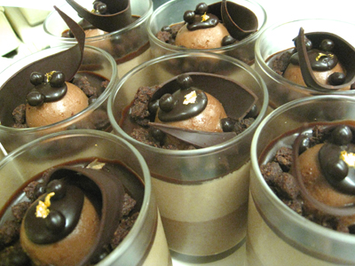 ショコラ メッシ(3つのショコラクリーム)