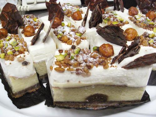 カマンベール・マスカルポーネ2層のチーズケーキ