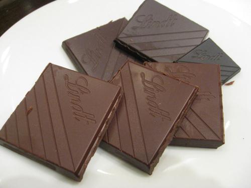 5感を使ったチョコレートのテイスティング